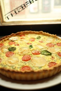 Kitchenette - Quiche Slovak Recipes, Quiche Recipes, Kitchenette, Lorraine, Food And Drink, Pizza, Snacks, Baking, Eat