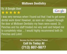 I was very nervous when I found out that I had to get some dental work done! However, as...