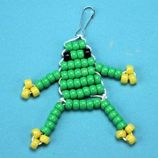 Frog Bead Pet - step by step photo tutorial