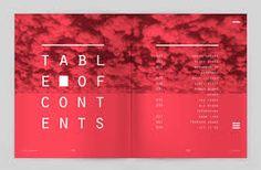 die besten 25 table of contents magazine ideen auf pinterest inhaltsverzeichnis design. Black Bedroom Furniture Sets. Home Design Ideas