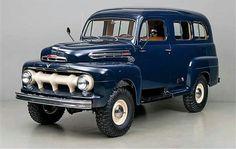 Photo: 1951 Ford F1 Ranger Marmon-Herringhton Ford Vintage, Panel Truck, Ford 4x4, Ford Bronco, Old Ford Trucks, Custom Trucks, 1951 Ford Truck, Pickup Trucks, Antique Trucks