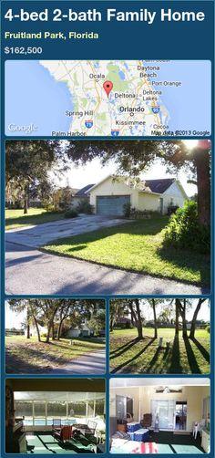 4-bed 2-bath Family Home in Fruitland Park, Florida ►$162,500 #PropertyForSale #RealEstate #Florida http://florida-magic.com/properties/90926-family-home-for-sale-in-fruitland-park-florida-with-4-bedroom-2-bathroom
