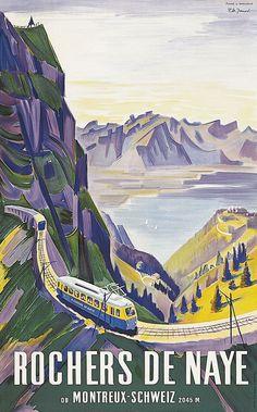 Rochers de Naye - 1942 - (Junod Pierre-Alexandre) -