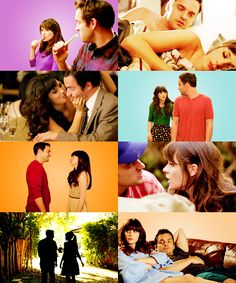 New Girl. Jess and Nick.