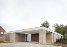 Wim Heylen's brick and concrete bungalow references countryside cottages