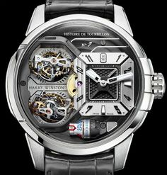 """Harry Winston Histoire De Tourbillon 7 Watch - more on aBlogtoWatch.com """"The Histoire de Tourbillon series is going to get Harry Winston in trouble. Seeing how every iteration of this series of incredible legacy watches has gotten exponentially more and more complex every year, we're starting to wonder how on Earth will they be able to deliver something that can up the ante from the previous version. Still, it doesn't look like 2016 will be the year the Histoire De Tourbillon plateaued..."""""""