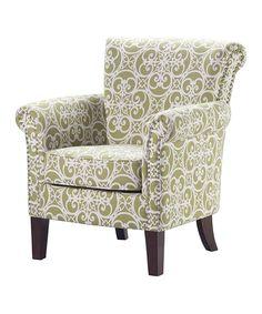 Birch Accent Chair by JLA Home #zulily #zulilyfinds