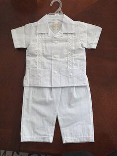 Baptism baby boy set Boy Christening set with removable by NARELO