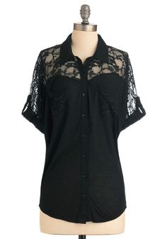 Adventures in Lace Top, #ModCloth
