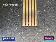 Check out this new Jesani Shower Product Drainage Channel, Linear Drain, New Builds, New Product, Shower, Check, Design, Products, Rain Shower Heads