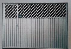 Portão de garagem é muito bem visto pela qualidade e estética que proporciona a sua residência tornando-a mais valorizada no mercado imobiliário