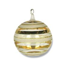 24 k Ball Ornament