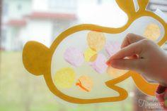 Olen ihastunut kontaktimuovin käyttöön askarteluissa, sillä sen avulla askartelu on helppoa, nopeaa ja ennen kaikkea siistiä. Työt voi tarvittaessa jättää kesken ja jatkaa hetken päästä, samalla id… Origami, Easy Crafts For Kids, Easter Crafts, Things To Do, Preschool, Arts And Crafts, Crafty, Spring, Projects