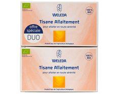 Duo Tisane d'Allaitement Offre Spéciale 2 x 20 Sachets WELEDA