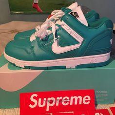 wholesale dealer 38fab 4f9ff Supreme Shoes   Supreme X Nike Air Force 2   Color  Blue   Size  10