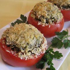 Рецепт: Фаршированные помидоры - все рецепты России