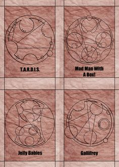 Words and phrases in Gallifreyan from the BBC's show Doctor Who; art print available through Bad Carrot Studios Etsy store!  Available in standard photo frame size: 5x7 Professionally made on glossy photo paper, and not from home printers.(watermark does not appear on artwork)