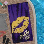 LSU Beach Towel