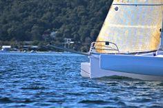 Photo of the Corsair Marine Dash MkII trimaran. See more photos on our website at: http://corsairmarine.com/trimarans/dash-750-mk-ii/#photos-view #sailing #sail #corsair #corsairmarine #dashmkii