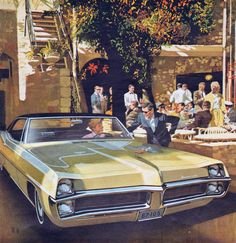 1967 Pontiac Bonneville Hardtop Coupe - 'Island in the Sun': Art Fitzpatrick and Van Kaufman