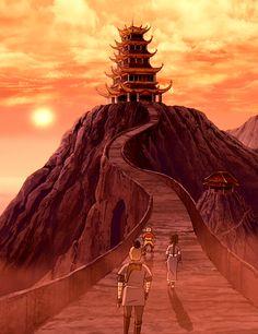 Afbeeldingsresultaat voor avatar the last airbender scenery Avatar Aang, Avatar Airbender, Avatar Legend Of Aang, Team Avatar, Legend Of Korra, Avatar Picture, The Last Avatar, Avatar World, Avatar Series