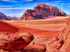 Have you seen #TheMartian yet? Check out these gorgeous photos! via Tech Insider #goJordan #Travel #Exclusive #WadiRum #Jordan