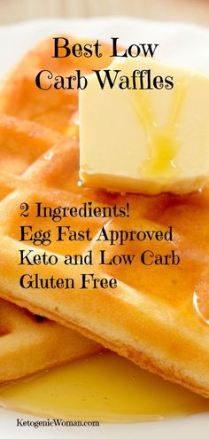 These are the Best Low Carb Waffles! Great for Keto, Low Carb, Gluten free and Egg Fast Dieters! These are the Best Low Carb Waffles! Great for Keto, Low Carb, Gluten free and Egg Fast Dieters! Best Low Carb Waffle Recipe, Keto Waffle, Waffle Recipes, Keto Recipes, Dinner Recipes, Soup Recipes, Salad Recipes, Snacks Recipes, Fast Diet Recipes