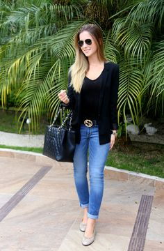 The Classic M   Por Marina Bragança: Look do Dia: Basic!