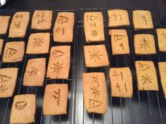 How to Make Cuneiform Tablet Cookies. Mystery of History Volume 1, Lesson 7 #MOHI7