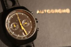 Autodromo Prototipo Chronograph with Nero Dial #AStitchinTime