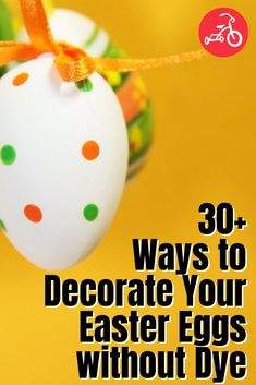 32 Ways to Decorate Your Easter Eggs without Dye - We've combed the web to find genius non-smelly (aka no vinegar) Easter decorating ideas, using everything from tissue paper and Cool whip, to tempera paint and sprinkles. Some are still messy (these are kids we're dealing with, after all), but they're all super fun. Cool Whip, Toy Craft, Tempera, Fun Crafts For Kids, Egg Decorating, Making Memories, Egg Hunt, Easter Baskets, Tissue Paper