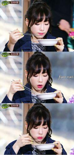 SNSD - Taeyeon - Healing Camp Hungry Tae.