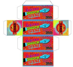 Weasley's Wizard Weezes product box: Electric shock shake!