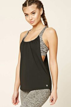 Active Twofer Sports Bra Tank | Forever 21 - 2000191196