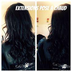 Extensions a la keratine