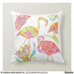 Shop A cushion with exotic vibes created by EvaBstylishcushions. Personalise it with photos & text or purchase as is! Grey Furniture, Furniture Design, Boys Desk, Cute Cushions, Dresser Desk, Industrial Storage, Unique Birthday Gifts, Vintage Shabby Chic