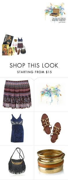 """13th floor elevator"" by miss-penny-lane ❤ liked on Polyvore featuring Forever 21, Almost Famous, Marc Jacobs, Antik Batik, Monsoon and Retrò"