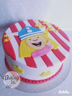 Wickie cake - who didn't love him?! *** Eine Wickie-Torte - wer hat ihn nicht geliebt?! :)