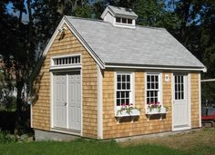 Shaker Sided Shed