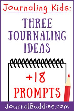 Check out this a list of journal ideas for kids and a brand new set of writing prompts that will show them just how fun this activity can be! These fun writing prompts and journal ideas for kids are a great way to help your students get excited about the prospect of journaling.