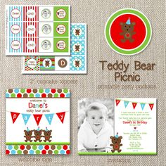 Teddy Bear theme First Birthday Themes, Baby Boy First Birthday, Birthday Diy, First Birthdays, Birthday Ideas, Teddy Bear Party, Teddy Bear Birthday, Teddy Bears, Fun Crafts For Kids