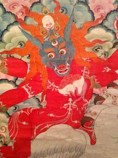 Tibetan Medicine. Rubin Museum of Art, NYC. Photo taken by Samudrasambhava. See the rest at https://www.pinterest.com/Samudrasambhava/