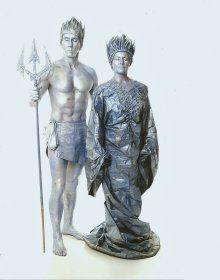 Pamela - Human Statue - Surrey