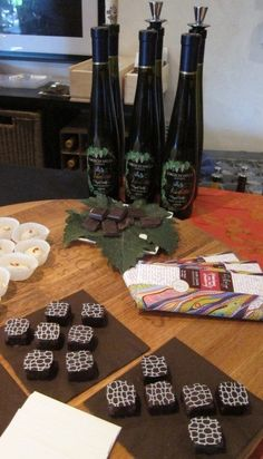 Wine and chocolate pairing at Grgich Hills Estate.
