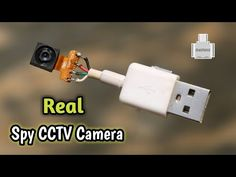 Electronics Mini Projects, Electronic Circuit Projects, Electrical Projects, Diy Electronics, Diy Security Camera, Security Cameras For Home, Piratear Wifi, Usb, Wireless Spy Camera