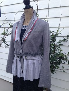 RESERVED for Mary Lagenlook Washed Linen by bluemermaiddesigns