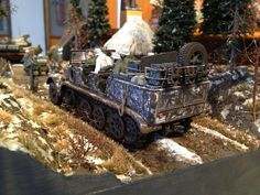 ''a walk through the forest'' diorama by Tsiompris Konstantinos