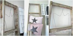 Kronenkleiderbügel / Crown hanger Ladder Decor, Hanger, Crown, Home Decor, Black Spray Paint, Mother In Law, Repurpose, Projects, Creative