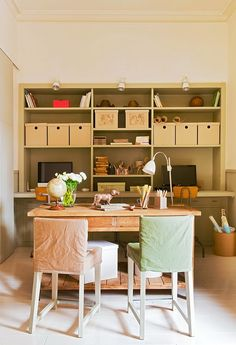 Beautifully Casual | I want to make that table :)
