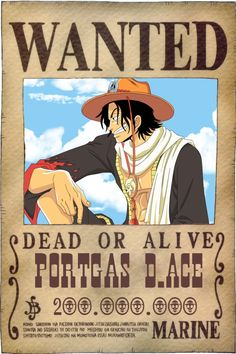 Se busca a Portgas D.Ace Razon: Demasiado Guapo ------------------------------------------------------------------------------------ Wanted Portgas D.Ace Reason: too cute